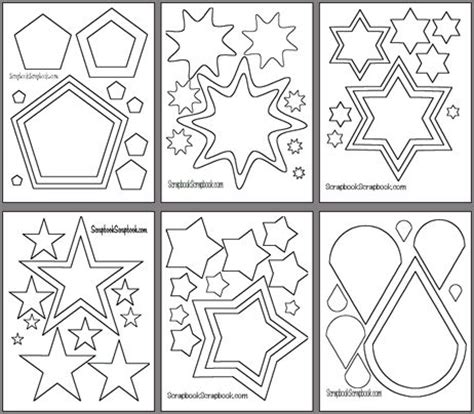 printable shapes for scrapbooking 319 best crafting templates stencils silhouettes