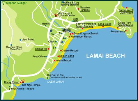 Cheap Bungalows in Lamai Beach   Discount Lamai Beach Bungalows Koh Samui Thailand