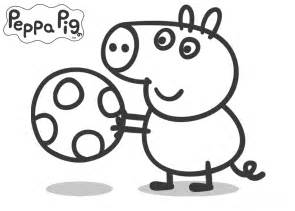 free peppa pig family coloring pages