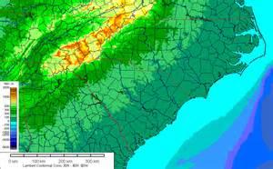 geologic map of carolina geologic map of and south carolina