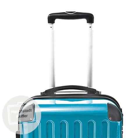 len preiswert preiswerter koffer alex 74 l cyanblau hochglanz