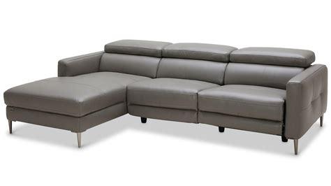 leather sofa modern sofa incredible modern gray leather sofa modern gray