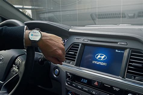 Blue Link Hyundai by Hyundai Blue Link Debuting Voice Recognition Smartwatch