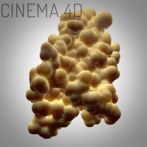 protein 3d model leptin protein 3d model max fbx c4d ma mb cgtrader