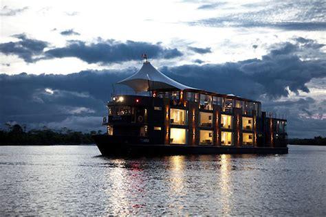 hotel in boat luxury boat hotel by jordi puig peru 187 retail design blog