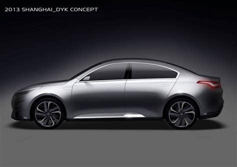Kia Brand Positioning Kia Reveals China Only Horki Brand Car Design