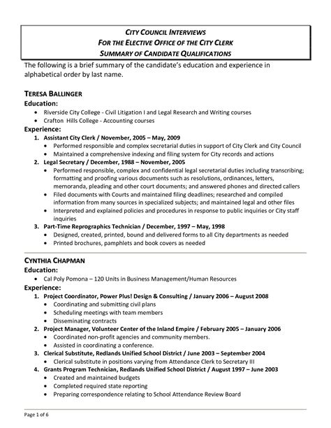 summary of qualifications how to describe yourself on your resume