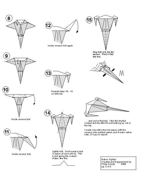 Wars Origami R2d2 - wars origami