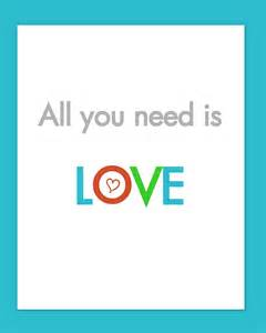 How To Decorate My Home no time to be bored all you need is love free printable