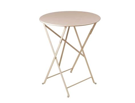 bistro metal folding table eye of the day garden