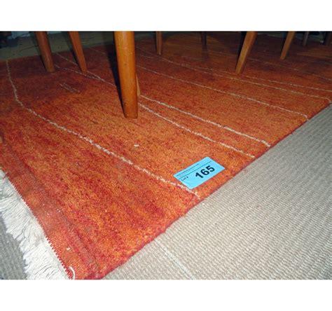 area rugs abbotsford contemporary orange wool area rug