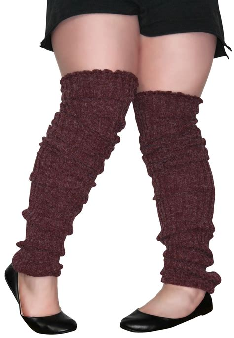 the knee leg warmer plus size leg warmers the knee cable knit