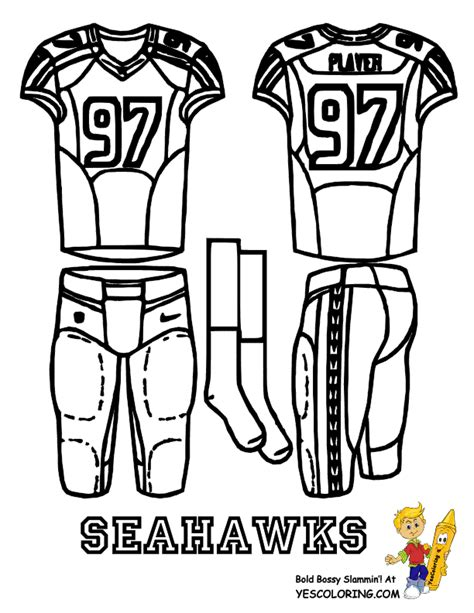 Seahawks Coloring Pages Coloring Home Seattle Seahawk Coloring Pages