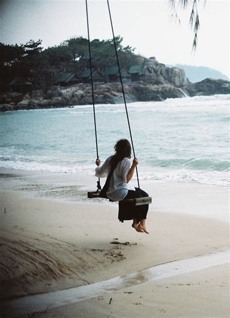 swing on the beach we ve almost made it jennifer michie