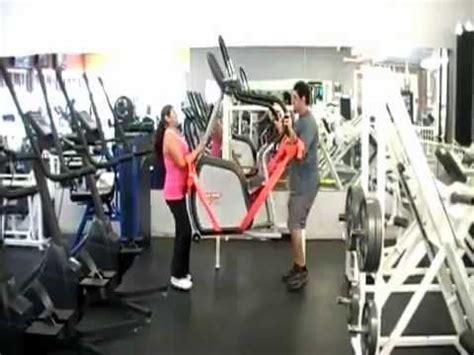 forearm forklift moving straps  gym equipment