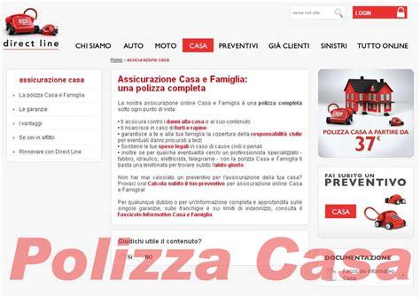 assicurazione casa on line directline l assicurazione casa si personalizza