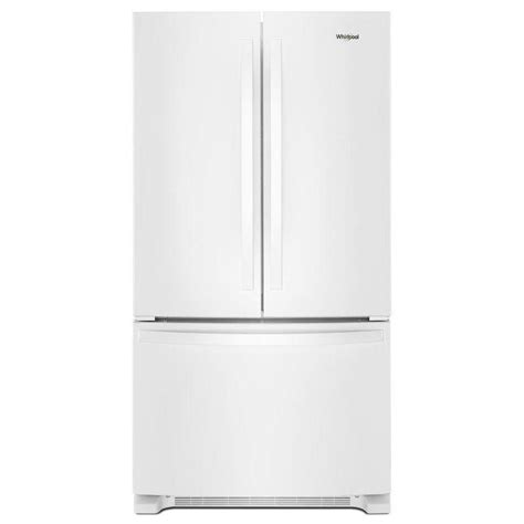 will quot white ice quot replace stainless steel as the new shop whirlpool 25 2 cu ft french door refrigerator with