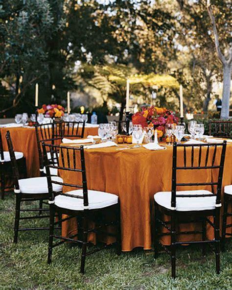 fall wedding table settings 58 genius fall wedding ideas martha stewart weddings