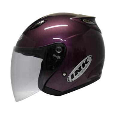 Helm Ink Cl Max 4 Black Fluo jual helm ink metalico klasik harga murah