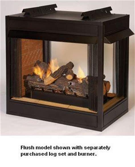 Fireplace Louvers by Empire Breckenridge Premium Vent Free Peninsula Gas
