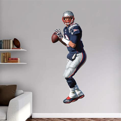 nfl fatheads wall stickers shop new patriots wall decals graphics fathead nfl