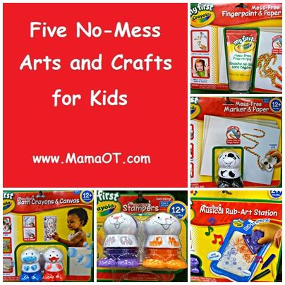 no mess crafts for five no mess arts and crafts for ot