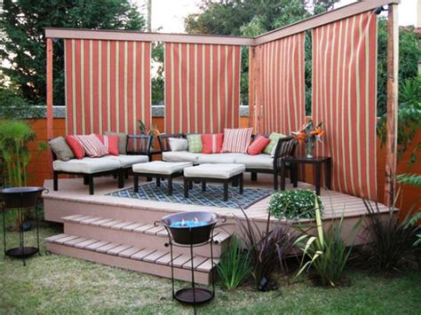 small backyard decor hassle deck decorating ideas for home curb appeal the plus