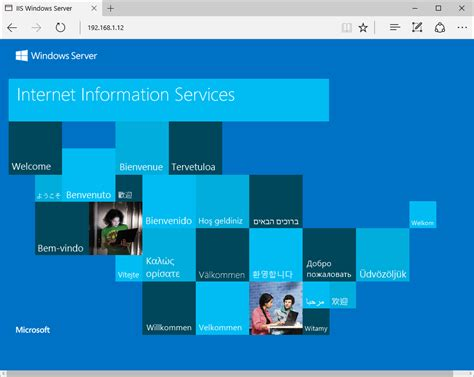 iss web how to install iis in windows server 2016