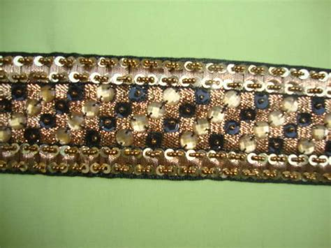 beaded fabric by the yard 1yd beaded fabric beaded trim ribbon by the yard t178