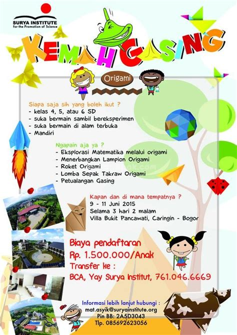 Tempat Anak Panaharrow Quiver Release kemah gasing 2015 origami c parents events