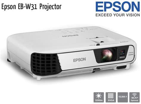 Projector Epson Eb W31 Epson Projectors