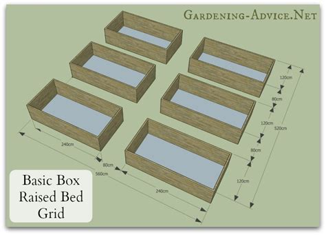 Raised Bed Garden Layout Easy To Build Raised Bed Garden Plans