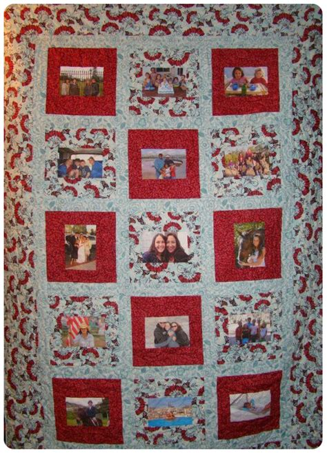 The Memory Quilt by Photo Memory Quilt