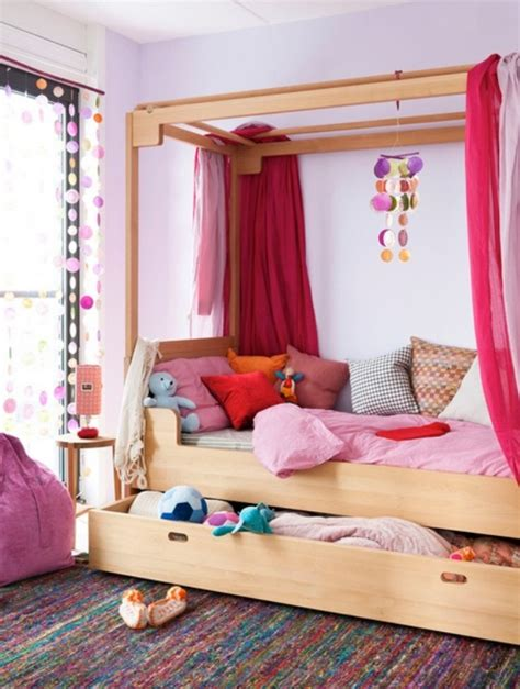 cute girl bunk beds 31 charming canopy bed ideas for a kid s room kidsomania