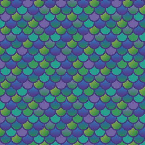 Home Decor Items Wholesale by Mermaid Fish Scales In Purple And Green Fabric Little