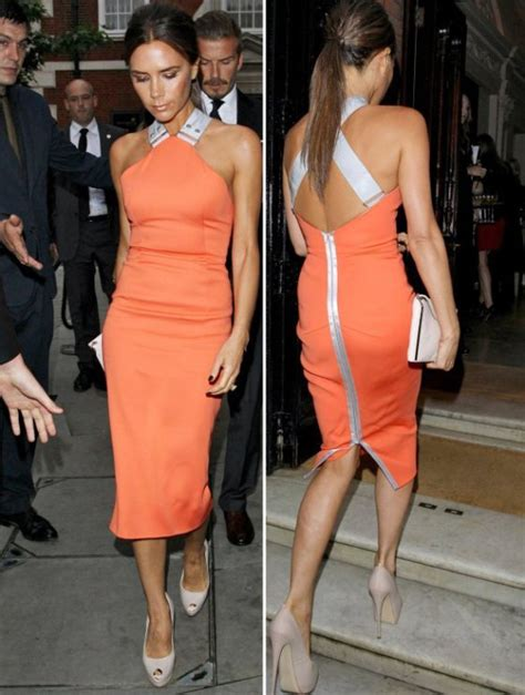 Frock Horror Of The Week The Spice Victorias Secret Carpet Appearance by Top 10 Beckham Fashion Moments Ldnfashion