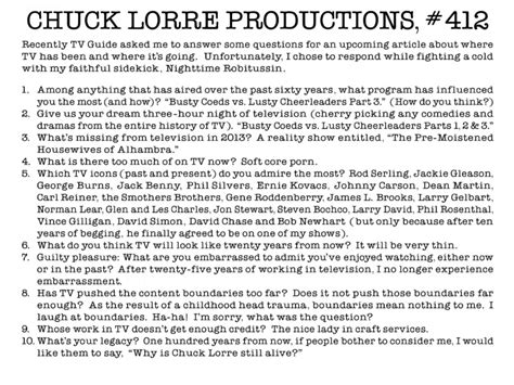 Chuck Lorre Vanity by S06e20 Chuck Lorre Vanity Card 412 Bigbangtheory