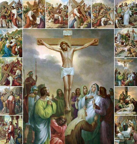imagenes de jesus viacrucis stations of the cross my spirituality pinterest