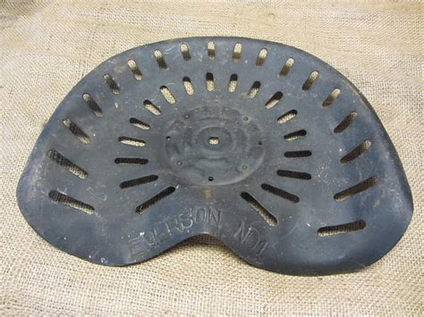 metal tractor seats vintage metal emerson no 1 tractor seat antique farm