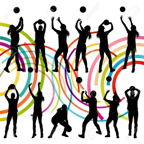 clipart pallavolo abstract clipart pencil and in color abstract