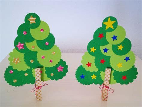 manualidades de navidad 193 rbol con cartulina