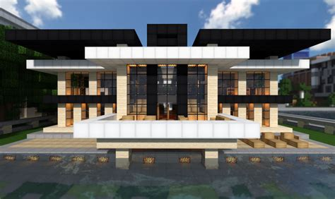 modern mansion modern mansion on world of keralis minecraft project