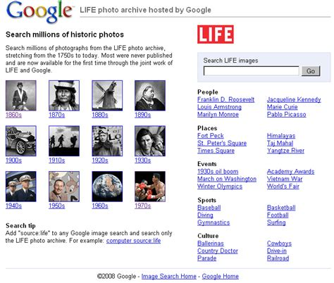 google images archive google s life photo archive