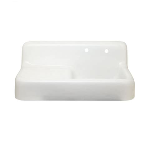 cast iron wall hung sink 42 quot cast iron wall hung kitchen sink with drainboard kitchen