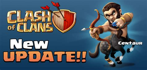 clash clans new troop clash of clans centaur troop what do you think