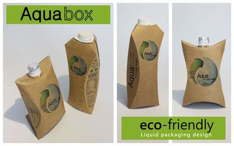 design for environment packaging brand new eco friendly healty liquid package changemakers
