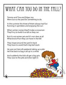fall poems fall kids poems to print fall kids poems