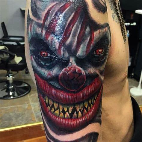 tattoo evil joker 27 clown tattoo designs ideas design trends premium