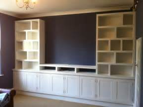 Storage Wall Units by Made To Measure Handmade Cabinets