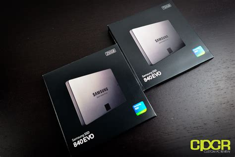 samsung 840 evo 250gb 750gb ssd review custom pc review